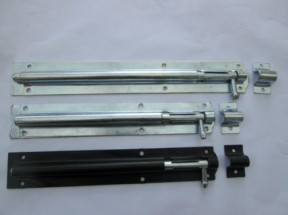 Garden gate sliding door bolt