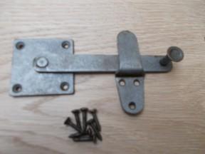 Industrial door Catch Latch Antique Iron