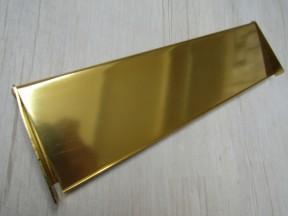 """10"""" Inner Flap Tidy Gold Aluminium"""