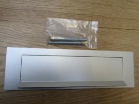 "10"" Gravity Letter Plate Satin Aluminium"