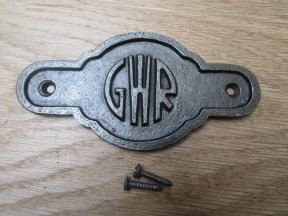 Cast Iron GWR Plaque