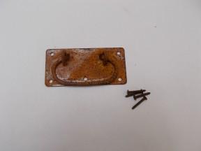 "4"" Locking Handle Rustic"