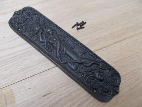 Antique Iron Mermaid Finger Plate