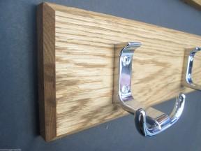 Polished Chrome Towel Hook Rail