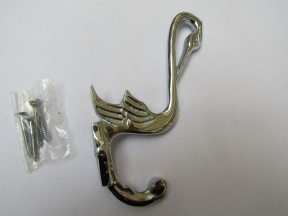 Pelican Coat Hook Polished Chrome
