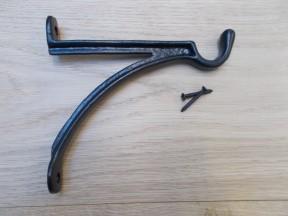 Projecting Hook Bracket Black Antique