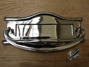 Regency Postal Door Knocker Polished Chrome