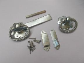 "Ring Latch 6"" Twisted Zinc steel"