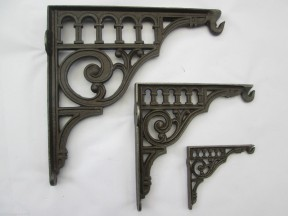 Roman Arches hanging basket bracket