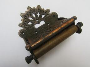 Decorative Toilet Roll Holder Antique Copper