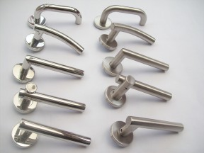 stainless steel door handles collection