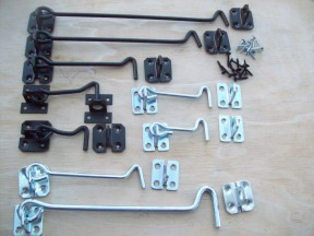 Steel cabin hooks collection