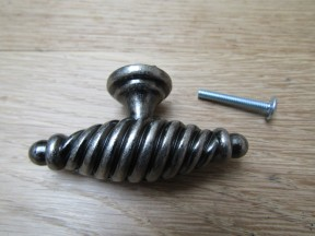 Twisted T Cabinet Knob