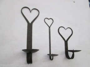 Gothic wall sconce candle holder range