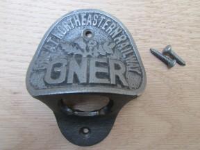 Cast Iron GNER Bottle Opener
