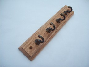 Solid Oak Key Hanger
