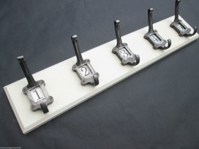 Ceramic Number Coat Rack