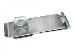 "Hasp And Staple 6"" Zinc Steel"