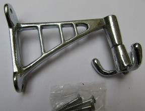 Projecting Swivel Hook Chrome