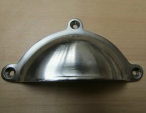 Royal lugged Cup Pull Handle Satin Chrome