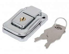Toggle Catch Small Locking Silver