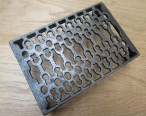 """9"""" x 6"""" Air Brick Antique Iron"""