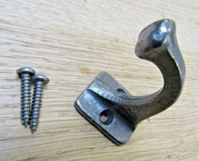 Key Robe hook Antique Iron