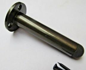 """Door Stopper 3"""" Pipe Antique Brass"""