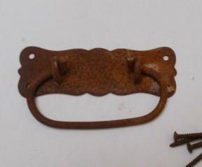 Regal Ring Pull Handle Rust