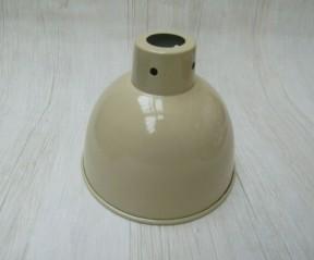 """Retro Light shade 6"""" Dome Cream"""