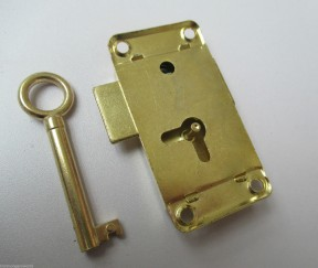 Wardrobe Lock Latch 63mm