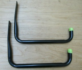Pack of 2 Universal Storage Hooks 25cm