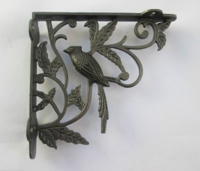 Ornate Shelf Bracket -1 Bird