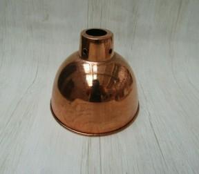 "Retro Light shade 6"" Dome Polished Copper"