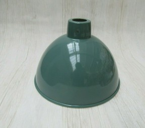 "Retro Light shade 12"" Dome French Grey"