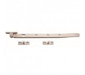 Satin Aluminium Window Casement stay arm 12""