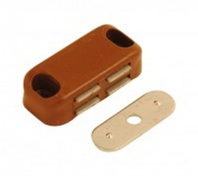 40mm Magnetic Brown Catch Latch