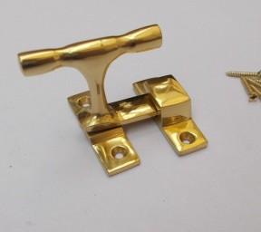 Showcase Fastener Large 50mm Polished Brass