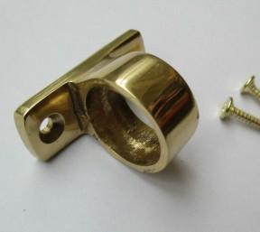 Polished Brass Sash Eye