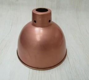 "Retro Light shade 6"" Dome Antique Copper"
