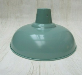 "Retro Light shade 11"" Pool Table French Grey"