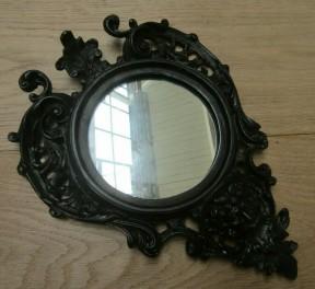 Cast Iron Gargoyle Mirror