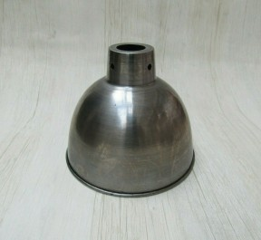"""Retro Light shade 6"""" Dome Antique Iron"""