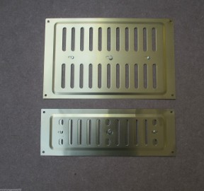 "9"" x 3"" Hit & Miss Vent Gold"