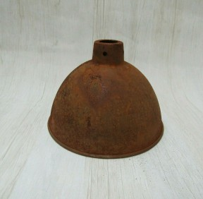 "Retro Light shade 12"" Dome Rust"