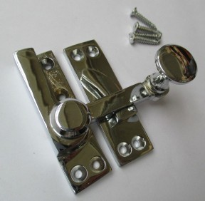 Quadrant Arm fastener Polished Chrome