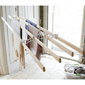4 Lath Victorian White Ceiling Airer 2.10m