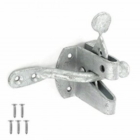 Auto gate latch catch Galvanised