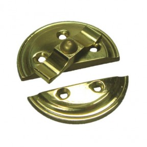 Vintage Butterfly turn button Latch Brass
