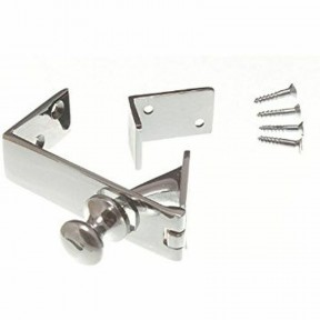 Counter Flap Catch Polished Chrome